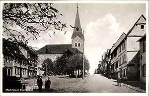 Ansichtskarte / Postkarte Holzappel Rheinland Pfalz, Marktplatz,