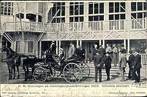 Ansichtskarte / Postkarte König Oskar II. von