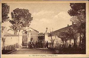 Ansichtskarte / Postkarte Relizane Algerien, L'Hôpital Civil,
