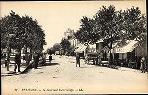Ansichtskarte / Postkarte Relizane Algerien, Le Boulevard