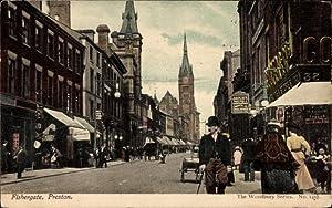 Ansichtskarte / Postkarte Preston Lancashire England, Fishergate,