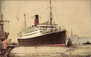 Künstler Ansichtskarte / Postkarte Cunard Line, Royal