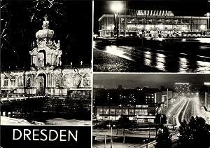 Ansichtskarte / Postkarte Dresden Zentrum Altstadt, Zwinger,