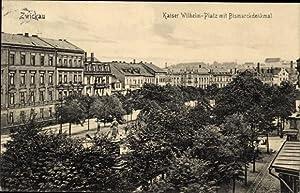 Ansichtskarte / Postkarte Zwickau in Sachsen, Blick