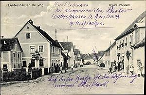 Ansichtskarte / Postkarte Leutershausen an der Altmühl