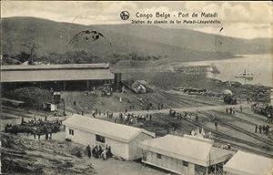 Ansichtskarte / Postkarte Matadi DR Kongo Zaire,
