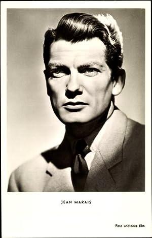 Ansichtskarte / Postkarte Schauspieler Jean Marais, Portrait,