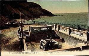 Ansichtskarte / Postkarte Tunis Tunesien, Korbous, Source