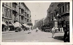 Ansichtskarte / Postkarte Alexandria Ägypten, Boulevard Saad