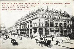 Ansichtskarte / Postkarte Paris, Maison Principale, 2