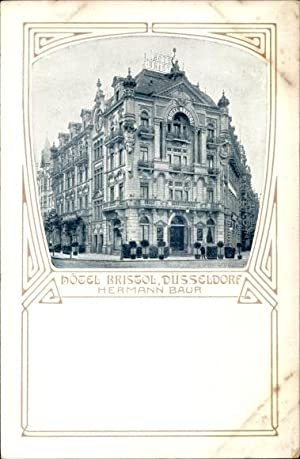Ansichtskarte / Postkarte Düsseldorf am Rhein, Hotel