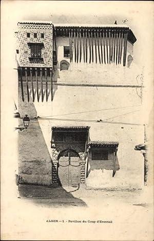 Ansichtskarte / Postkarte Algier Alger Algerien, Pavillon