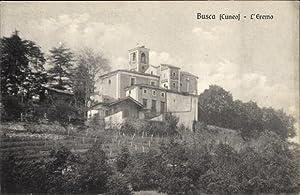 Ansichtskarte / Postkarte Busca Piemonte, L'Eremo, Blick