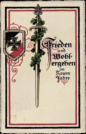 Ansichtskarte / Postkarte Glückwunsch Neujahr, Frieden und