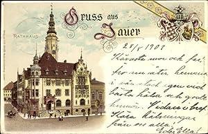 Wappen Litho Jawor Jauer Schlesien, Rathaus, Ratusz
