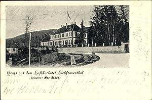 Ansichtskarte / Postkarte Zwischen Walbourg Walburg Elsass