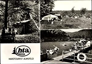 Ansichtskarte / Postkarte Almsfeld Wendefurth Thale im