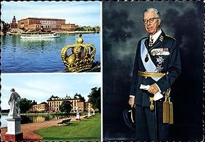 Ansichtskarte / Postkarte Stockholm Schweden, Kungl. Slottet,