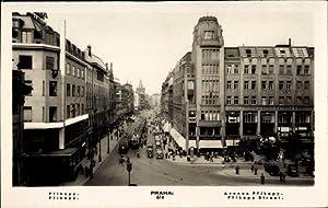 Ansichtskarte / Postkarte Praha Prag, Prikopy, Straßenpartie,
