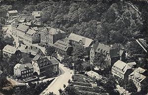 Ansichtskarte / Postkarte Tharandt im Erzgebirge, Blick