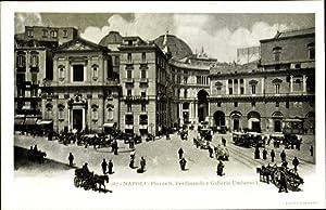 Ansichtskarte / Postkarte Napoli Neapel Campania, Piazza
