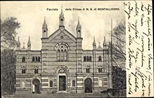 Ansichtskarte / Postkarte Montallegro Sicilia, Facciata della