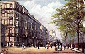 Künstler Ansichtskarte / Postkarte London City, Piccadilly