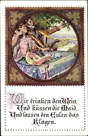 Künstler Ansichtskarte / Postkarte Marussig, A., Wir