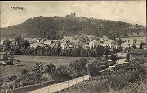 Ansichtskarte / Postkarte Montmédy Lothringen Meuse, Stadtansicht,