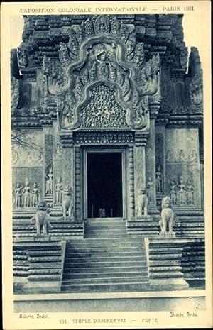 Ansichtskarte / Postkarte Paris, Exposition Coloniale Internationale