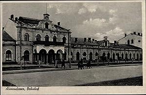 Ansichtskarte / Postkarte Aleksandrów Kujawski Weichselstädt Pommern,