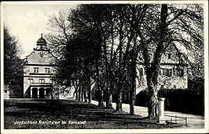Ansichtskarte / Postkarte Darmstadt in Hessen, Blick