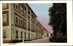 Leuchtfenster Ansichtskarte / Postkarte Gnadenfrei in Schlesien,