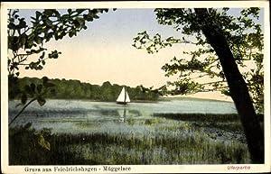 Ansichtskarte / Postkarte Berlin Köpenick Friedrichshagen, Uferpartie