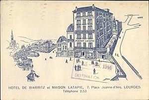 Künstler Ansichtskarte / Postkarte Lourdes Hautes Pyrénées,