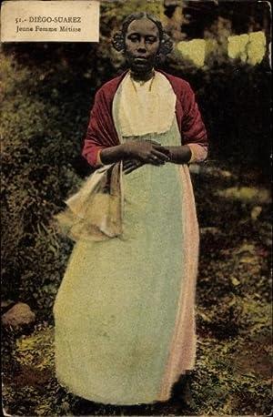 Ansichtskarte / Postkarte Diego Suarez Antsiranana Madagaskar,
