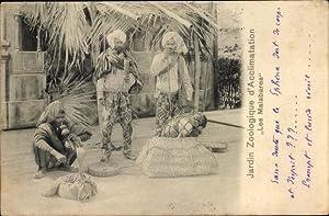 Ansichtskarte / Postkarte Jardin Zoologique d'Acclimatation, Les