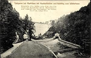 Ansichtskarte / Postkarte Marklissa Schlesien, Partie an