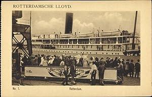 Ansichtskarte / Postkarte Rotterdam Südholland Niederlande, Rotterdamsche