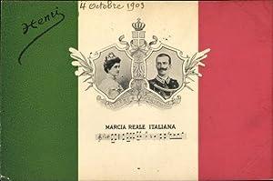 Ansichtskarte / Postkarte Vittorio Emanuele III., König