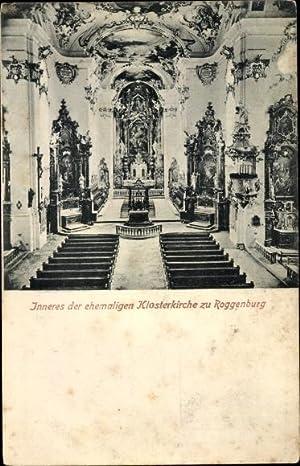 Ansichtskarte / Postkarte Roggenburg bei Neu-Ulm an