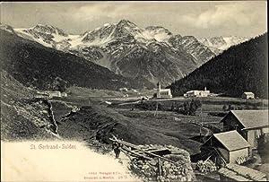 Ansichtskarte / Postkarte Sulden Südtirol, Blick auf