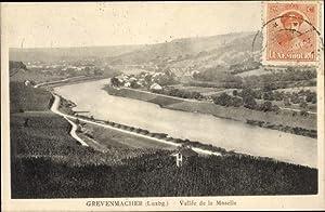 Ansichtskarte / Postkarte Grevenmacher Luxemburg, Vallée de