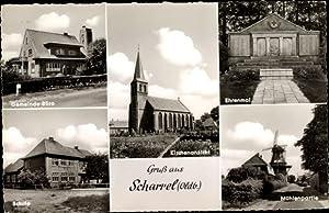 Ansichtskarte / Postkarte Scharrel Saterland in Niedersachsen,