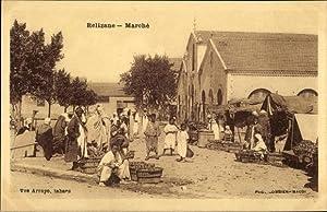 Ansichtskarte / Postkarte Relizane Algerien, Vue du