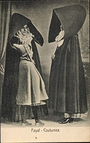 Ansichtskarte / Postkarte Fayal Faial Portugal, Costumes,