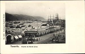 Ansichtskarte / Postkarte Santa Cruz de Tenerife