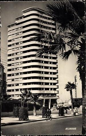 Ansichtskarte / Postkarte Casablanca Marokko, Immeuble Liberté,
