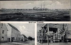 Ansichtskarte / Postkarte Trebnitz Teuchern Burgenlandkreis, Totalansicht,