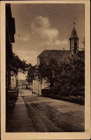 Ansichtskarte / Postkarte Górna Gnadenfrei Schlesien, Kirchstraße